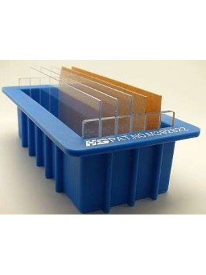 Loaf mold with dividers